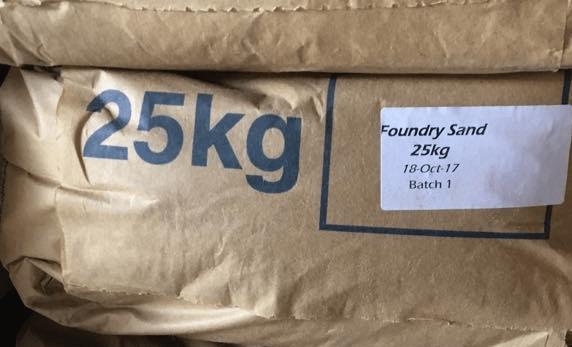 Foundry Sand (25kg)